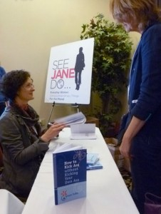 Book signing at the Passion into Action Conference